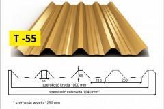 blachy trapezowe T55